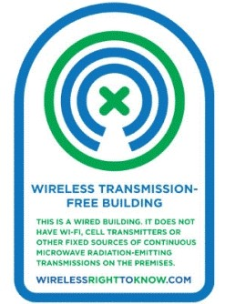 wireless transmission free building sign