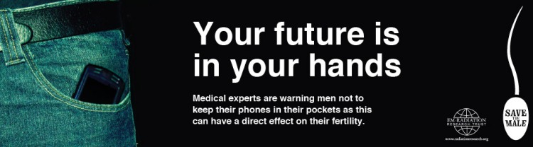 do not put cell phone in your pocket british campaign