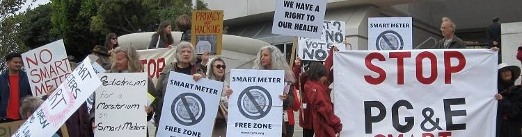 stop smart meters demonstration