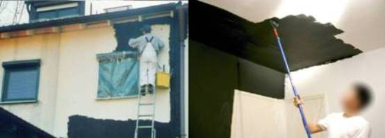 paint a house with emf shielding paint